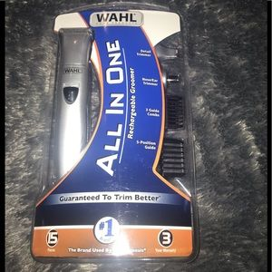 WAHLRECHARGEABLE GROOMER-all in one! Great product